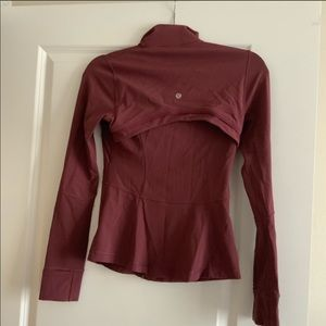 lululemon athletica Other - Lulu lemon maroon zip up